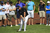 Shane Lowry (IRL) on the 14th fairway during the final round of the DP World Tour Championship, Jumeirah Golf Estates, Dubai, United Arab Emirates. 18/11/2018<br /> Picture: Golffile | Fran Caffrey<br /> <br /> <br /> All photo usage must carry mandatory copyright credit (© Golffile | Fran Caffrey)