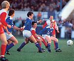 Derek Ferguson, Rangers at Starks Park for a Raith Rovers match