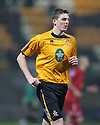 Liam Hughes of Cambridge United during the Blue Square Bet Premier match between Cambridge United and Kidderminster Harriers at the Abbey Stadium, Cambridge on 18th February, 2011 .© Kevin Coleman 2011.