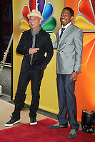 Howie Mandel and Nick Cannon at NBC's Upfront Presentation at Radio City Music Hall on May 14, 2012 in New York City. © RW/MediaPunch Inc.