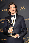 LOS ANGELES - APR 29: Benjamin Sanders at The 43rd Daytime Creative Arts Emmy Awards, Westin Bonaventure Hotel on April 29, 2016 in Los Angeles, CA