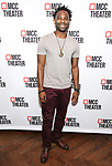 """W. Tré Davis attends the photo call for the cast and creative team of MCC Theater's New York Premiere of """"Seared"""" on September 11, 2019 at Artesia Wine Bar in New York City."""