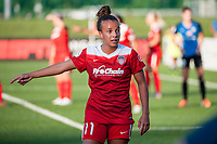 Kansas City, MO - Saturday May 27, 2017: Mallory Pugh during a regular season National Women's Soccer League (NWSL) match between FC Kansas City and the Washington Spirit at Children's Mercy Victory Field.