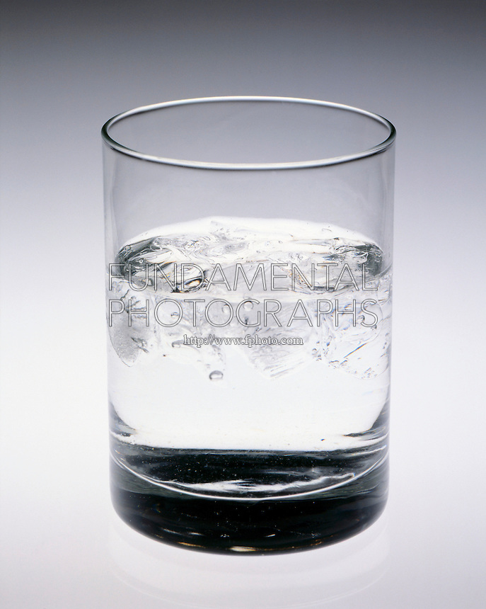 ICE CUBES MELTING IN A GLASS<br />