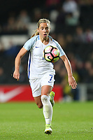 Jordan Nobbs (Arsenal) of England Women during the Women's Friendly match between England Women and Austria Women at stadium:mk, Milton Keynes, England on 10 April 2017. Photo by PRiME Media Images / David Horn.