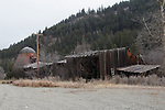 old lumber mill, Okanogan County, Eastern Washington, Washington State,