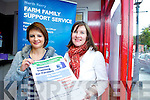 FAMING ON THE WEB: Internet training for farmers being offered by North & East Kerry Development in association with Kerry Education Services & Teagasc will be running soon in Listowel, Causeway and Tralee. Hilary Egan form North & East Kerry Development and Michelle Anne Houlihan from Kerry Education Services...