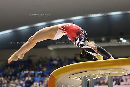 Asuka Teramoto (JPN), .April 6, 2013 - Artistic Gymnastics : .FIG Artistic Gymnastics World Cup, Tokyo Cup 2013 .Women's Individual All-round 1st Day .at Komazawa Gymnasium, Tokyo, Japan. .(Photo by Daiju Kitamura/AFLO SPORT) [1045]
