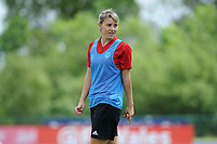 Gemma Evans of Wales Women during the Wales Women Training Session at the Cardiff International Sports Stadium in Cardiff, Wales, UK. Monday 03 June 2019