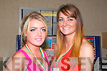 Night Of Champions : Attending the Golden Gloves  Night Of Champions Kick Boxing Fights at the Listowel Community Centre on Saturday night last were Ring girls Amy Prendergast & Kayleigh O'Carroll from Tralee.