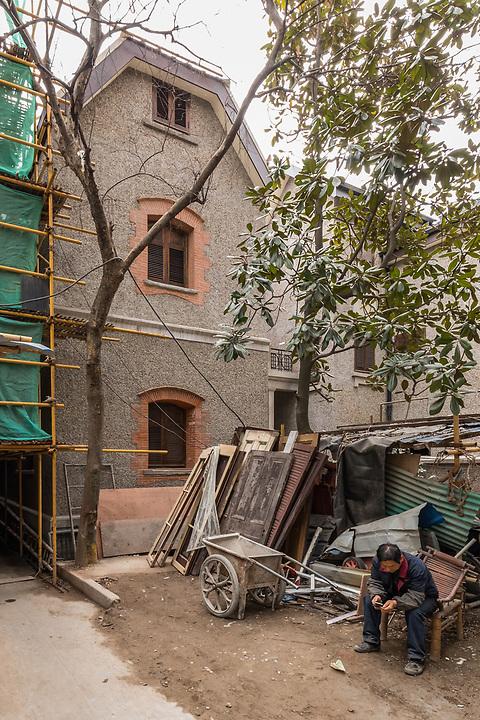 Senior Staff Quarters On Rue Ferguson (Rear), Restoration In Progress.