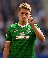 FUSSBALL   1. BUNDESLIGA   SAISON 2013/2014   6. SPIELTAG Hamburger SV - SV Werder Bremen                       21.09.2013 Nils Petersen (SV Werder Bremen)