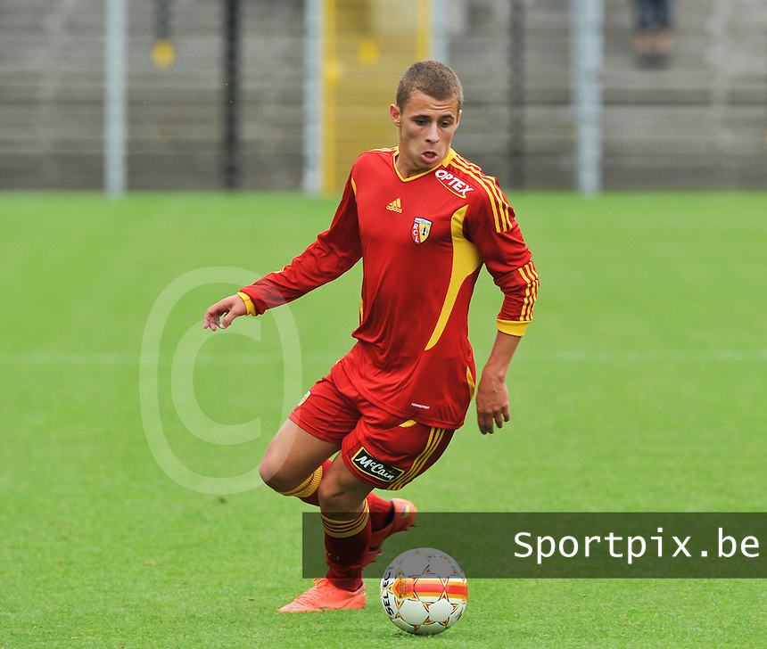 Racing Club De Lens - RC Lens : Thorgan Hazard.foto DAVID CATRY / VDB