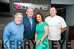 Food Meets Fashion: pictured at the Food meets Fashion event in aid of St. Vincent de Paul at the Marine Hotel, Ballybunion were Tony Moore, Gerard Walsh, Elaine Bennett & Derek Nagle, organizers of the event.