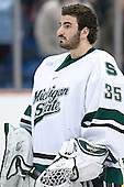 Dominic Vicari - The University of Maine Black Bears defeated the Michigan State University Spartans 5-4 on Sunday, March 26, 2006, in the NCAA East Regional Final at the Pepsi Arena in Albany, New York.