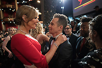 Allison Janney and Sam Rockwell during the live ABC Telecast of The 90th Oscars&reg; at the Dolby&reg; Theatre in Hollywood, CA on Sunday, March 4, 2018.<br /> *Editorial Use Only*<br /> CAP/PLF/AMPAS<br /> Supplied by Capital Pictures