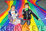 Elsa Lawlor and Oisín Lawlor enjoying the Kerry Pride Parade on Saturday