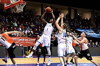 GRONINGEN - Basketbal, Donar - Feyenoord,  beker ,seizoen 2019-2020, 22-01-2020,  overgespeelde bekerwedstrijd, snotpoging Donar speler Donte Thomas