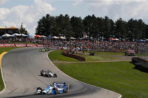 Verizon IndyCar Series<br /> Honda Indy 200 at Mid-Ohio<br /> Mid-Ohio Sports Car Course, Lexington, OH USA<br /> Sunday 30 July 2017<br /> Tony Kanaan, Chip Ganassi Racing Teams Honda Ed Jones, Dale Coyne Racing Honda<br /> World Copyright: Michael L. Levitt<br /> LAT Images