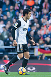 Daniel Parejo Munoz of Valencia CF in action during the La Liga 2017-18 match between Valencia CF and Villarreal CF at Estadio de Mestalla on 23 December 2017 in Valencia, Spain. Photo by Maria Jose Segovia Carmona / Power Sport Images
