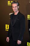 """Ernesto Alterio attends the premiere of the film """"El bar"""" at Callao Cinema in Madrid, Spain. March 22, 2017. (ALTERPHOTOS / Rodrigo Jimenez)"""