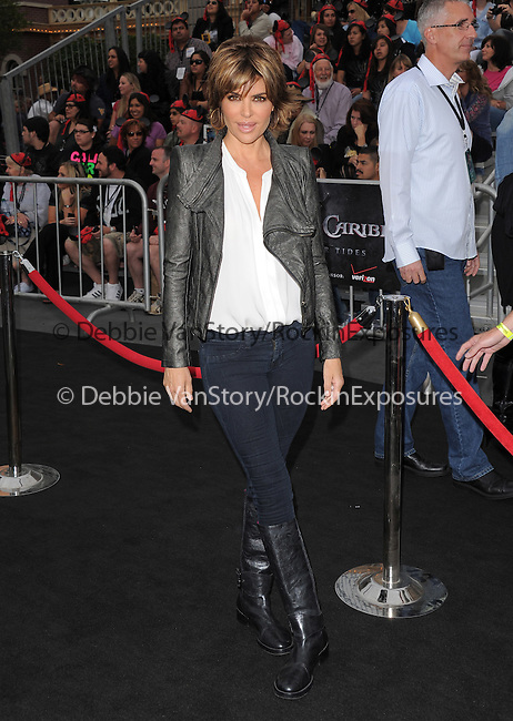 Lisa Rinna at Walt Disney Pictures Premiere of Pirates of the Caribbean : On Stranger Tides held at Disneyland in Anaheim, California on May 07,2011                                                                               © 2010 Hollywood Press Agency