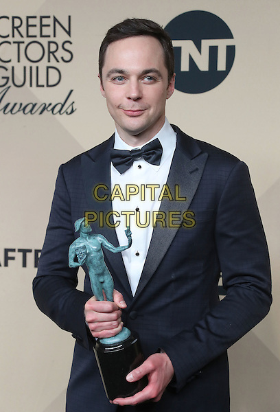 29 January 2017 - Los Angeles, California - Jim Parsons. 23rd Annual Screen Actors Guild Awards held at The Shrine Expo Hall. <br /> CAP/ADM/FS<br /> &copy;FS/ADM/Capital Pictures