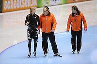 SCHAATSEN: HEERENVEEN: Thialf, KPN NK Sprint, 30-12-11, Ronald Mulder, Jac Orie, Bjarne Rykkje, ©foto: Martin de Jong.