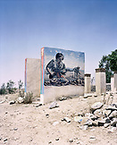 ERITREA, Karen, murals depicting the Eritrean-Ethiopian War painted near the town of Karen