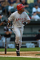 Garrett Anderson, of the Los Angeles Angels, in aciton against the Chicago White Sox on August 7, 2006 in Chicago...Angels win 6-3..David Durochik / SportPics