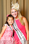 North Carolina Rose Rose Jessica Giggey pictured with her Rosebud Kayleigh Ozdemir at the Carlton Hotel at the Rose of Tralee on Friday.