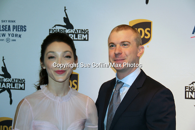 Meryl Davis and Timothy Goebel - Figure Skating in Harlem presents Champions in Life Benefit Gala on April 29, 2019 at Chelsea Pier, New York City, New York - (Photo by Sue Coflin/Max Photos)