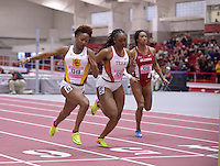 NWA Democrat-Gazette/BEN GOFF @NWABENGOFF<br /> Athletes compete Friday, Feb. 10, 2017 during the Tyson Invitational at the Randal Tyson Track Complex in Fayetteville.