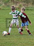Donacarney Bears Romy Cullen Drogheda Boys Sean Tuffy. Photo:Colin Bell/pressphotos.ie