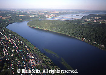 A view of the Susquehanna River.