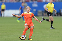 "Frisco, TX - Sunday September 03, 2017: Andressa Cavalari Machry ""Andressinha"" during a regular season National Women's Soccer League (NWSL) match between the Houston Dash and the Seattle Reign FC at Toyota Stadium in Frisco Texas. The match was moved to Toyota Stadium in Frisco Texas due to Hurricane Harvey hitting Houston Texas."