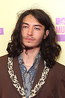 LOS ANGELES, CA - SEPTEMBER 06: Ezra Miller at the 2012 MTV Video Music Awards at The Staples Center on September 6, 2012 in Los Angeles, California. © mpi28/MediaPunch inc. /NortePhoto.com<br />