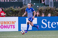 Boston, MA - Saturday April 29, 2017: Tiffany Weimer during a regular season National Women's Soccer League (NWSL) match between the Boston Breakers and Seattle Reign FC at Jordan Field.