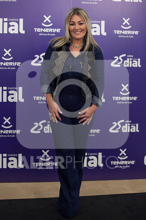 Singer Amaia Montero poses during Cadena Dial music awards presentation in Madrid, Spain. February 05, 2015. (ALTERPHOTOS/Victor Blanco)