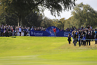Lizette Salas Team USA on the 7th tee during Day 1 Fourball at the Solheim Cup 2019, Gleneagles Golf CLub, Auchterarder, Perthshire, Scotland. 13/09/2019.<br /> Picture Thos Caffrey / Golffile.ie<br /> <br /> All photo usage must carry mandatory copyright credit (© Golffile | Thos Caffrey)