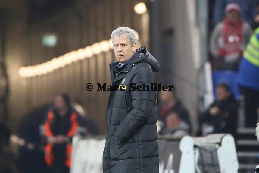 Trainer Lucien Favre (Borussia)  - 1. FSV Mainz 05 vs. Borussia Moenchengladbach, Coface Arena