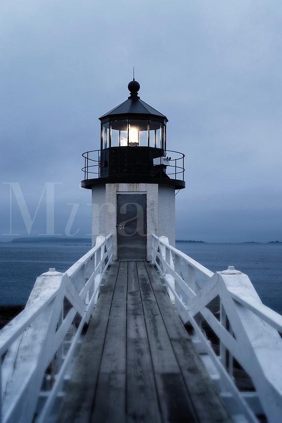 Marshall Point Light Station, Port Clyde, Maine, USA.