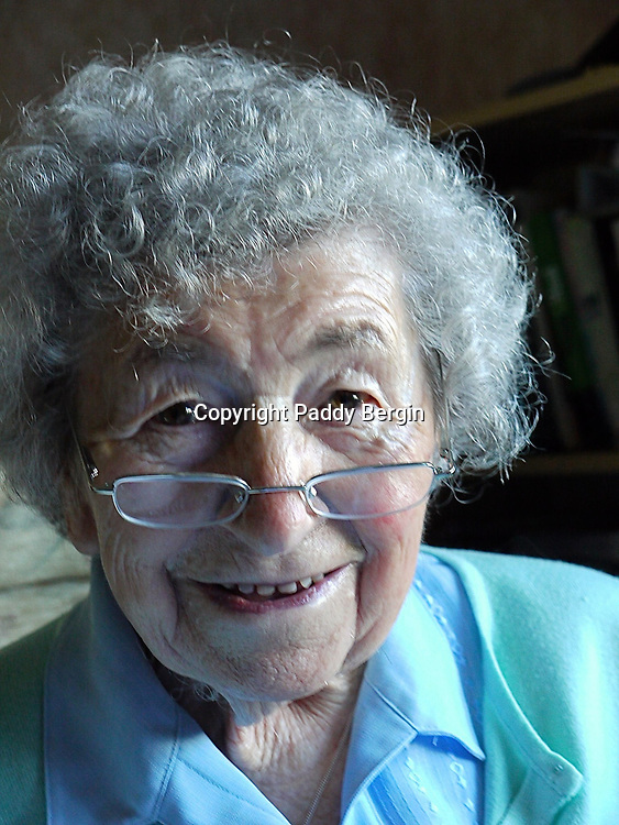 Mum at home in her 90s.<br />