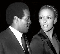 OJ Simpson Nicole Simpson Undated<br /> Photo By Adam Scull/PHOTOlink.net