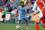 06 June 2015: Minnesota's Ibson (BRA). The Carolina RailHawks hosted Minnesota United FC at WakeMed Stadium in Cary, North Carolina in a North American Soccer League 2015 Spring Season match. The game ended in a 1-1 tie.