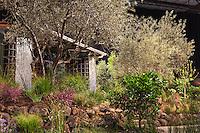 """No Water for this Garden"" exhibit garden by New Leaf Landscapes at San Francisco Flower & Garden Show 2014"