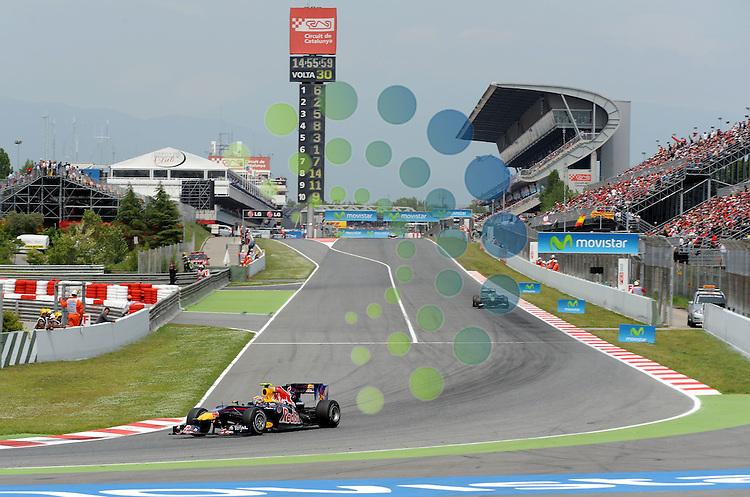 F1 GP of Spain, Barcelona 06.-09. May 2010.Mark Webber (AUS), Red Bull Racing ..Hasan Bratic;Koblenzerstr.3;56412 Nentershausen;Tel.:0172-2733357;.hb-press-agency@t-online.de;http://www.uptodate-bildagentur.de;.Veroeffentlichung gem. AGB - Stand 09.2006; Foto ist Honorarpflichtig zzgl. 7% Ust.;Hasan Bratic,Koblenzerstr.3,Postfach 1117,56412 Nentershausen; Steuer-Nr.: 30 807 6032 6;Finanzamt Montabaur;  Nassauische Sparkasse Nentershausen; Konto 828017896, BLZ 510 500 15;SWIFT-BIC: NASS DE 55;IBAN: DE69 5105 0015 0828 0178 96; Belegexemplar erforderlich!..