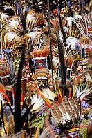 Papua New Guinea, Western Highlands Province, Mt. Hagen Cultural Show, show entrants