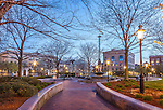 City Square Park in the Charlestown neighborhood of Boston, MA