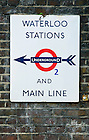 Sept. 3, 2012; London Underground sign near Conway Hall, London..Photo by Matt Cashore/University of Notre Dame